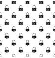 Gas half mask pattern simple style vector image vector image