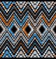 geometric decorative seamless pattern vector image vector image