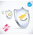 I Love Cyprus Flag vector image vector image