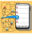 phone app vector image