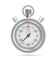 retro stopwatch vector image