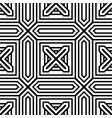seamless minimal geometric pattern vector image vector image