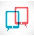 two ipads vector image vector image