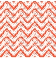 Zigzag pattern in tropical colors vector image vector image