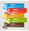Modern Infographic and Options Banner Template vector image