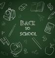 Back to school set vector image vector image