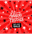 black friday square banner 50 percent off sale vector image