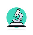 lab microscope science zoom abstract circle vector image vector image