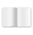 Notepad template vector image vector image