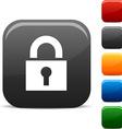 Padlock icons vector image vector image