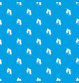 pants drying pattern seamless blue vector image vector image