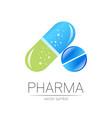 Pharmacy symbol for pharmacist pharma