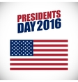 Presidents Day holiday banner vector image