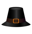traditional thaksgiving hat vector image