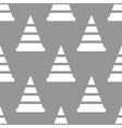 Worker sign seamless pattern vector image vector image