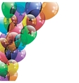 Colorfull Balloons Background vector image