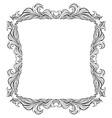 Vintage frame with place for text or picture For vector image