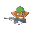 a cartoon design gingerbread star army