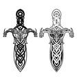 fantasy sword 0020 vector image vector image