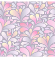paisley pattern pink vector image