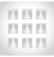 presentation wall vector image vector image