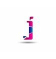Logo J Letter company design template vector image