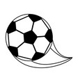 ball soccer or football related icon image vector image vector image