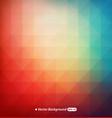 Blurry triangle background