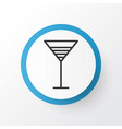 cocktail icon symbol premium quality isolated vector image vector image