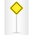 Danger blank sign vector image vector image