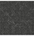 dark scribble seamless pattern vector image vector image
