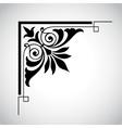 decorative vintage design element 5 vector image vector image