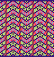 geometric bold arrow chevron seamless pattern vector image vector image