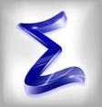 sigma vector image vector image