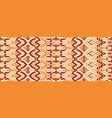 abstract seamless pattern in ethnic style vector image vector image