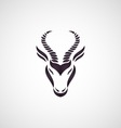 Antelope logo vector image vector image