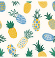 decorative seamless pattern with textured vector image