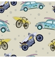 Fun Surfboards On Transport Cars Bicycles vector image vector image