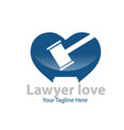 love justice logo designs vector image