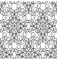 minimalistic ornate seamless pattern vector image vector image