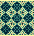 seamless geometric pattern with arabic motifs vector image vector image
