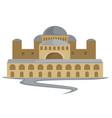 byzantium ancient building capitol constantinople vector image vector image