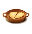 delicious dumplings vector image