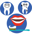 dental health vector image