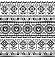 indian trucks art seamless pattern vector image