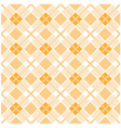 light brown plaid background - checked pattern vector image vector image