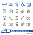 Medicine Health Care Outline Series vector image vector image