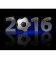 New year twenty-sixteen vector image