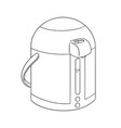 set of kettle vector image vector image