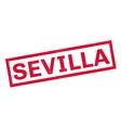 Sevilla rubber stamp vector image vector image